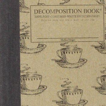 Coffee Cup Pocket-Size Decomposition Book