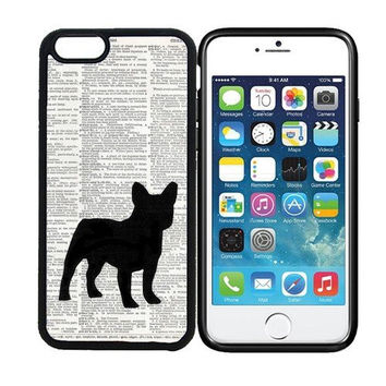 iPhone 6 (4.7 inch display) Designer Black Case - Bulldog On Dictionary Retro Vintage Dog Owner