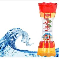 Funny Water Whirling Bath Toys~Infants Baby Wheel Dabbling Toys Water Bath Toys Colander Hourglass whirling Toys Leaking Kaleidoscope