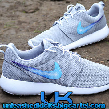 Galaxy Nike Roshe Run Grey