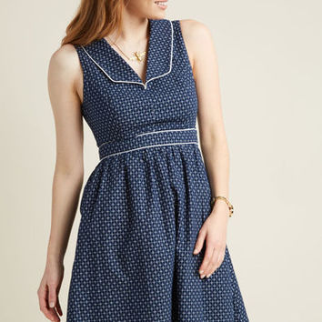 Accentuate the Positive A-Line Dress