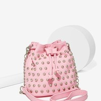 The Stud Out Mini Bucket Bag