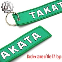 LA racing-New Bride JDM keychain For Honda keychain Go For Green Car Tuning