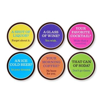 Baby Shower You Wish Drink Coasters