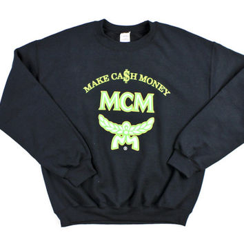 MCM Make Cash Money Crewneck Sweatshirt