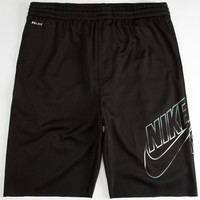 Nike Sb Sunday Fade Mens Dri-Fit Sweat Shorts Black/White  In Sizes