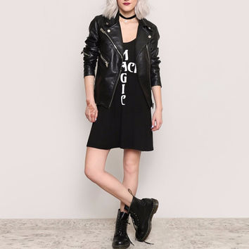 Black Magic Tank Dress
