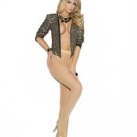 FOOTED FISHNET PANTYHOSE