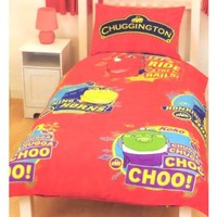 Chuggington Trains Koko Traintastic Kids Boys Duvet Quilt Cover Bedding Set