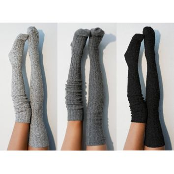 Sexy Gift Thigh High Socks- Romantic Seductive Intimate Unique Saucy Flirty Hot Valentines Day Gift for Her Lingerie Gift Ideas For Lover