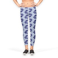 Astrological sign Aquarius constellation pattern Leggings by Savousepate from €37.00   miPic