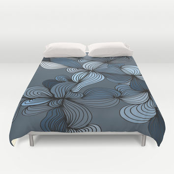 The Blues Duvet Cover by DuckyB (Brandi)