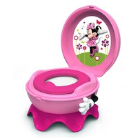 Disney Mickey Mouse & Friends Minnie Mouse 3-in-1 Potty System by The First Years (Pink)
