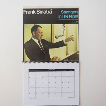 FRANK SINATRA Wall Calendar 2015 - Record Album Cover (Strangers In The Night)