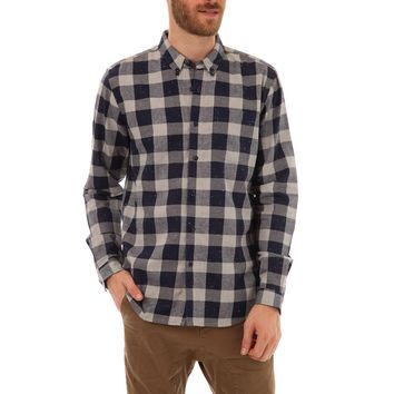 Leonard Button Down Flannel Shirt