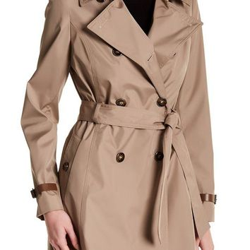 DCCKHB3 Via Spiga | Double Breasted Trench Coat