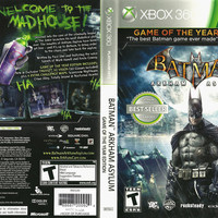 Batman: Arkham Asylum [Game of the Year Edition] - Microsoft Xbox 360 (Game Only)