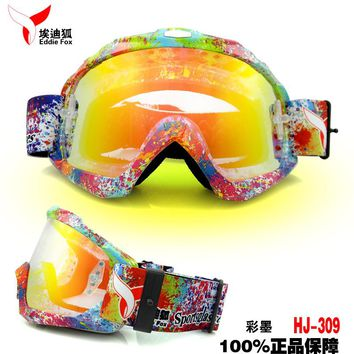 Eddie Fox Outdoor motorcycle wind goggles mountain fog skiing mirror glasses men and women models