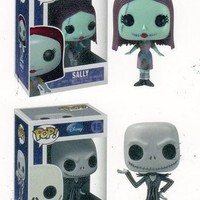 Jack & Sally - Nightmare Before Christmas Funko Pop Vinyl Figure Set!