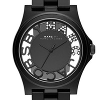 Women's MARC BY MARC JACOBS 'Henry Skeleton' Bracelet Watch, 41mm