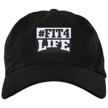 Fit4life - BX001 Brushed Twill Unstructured Cap