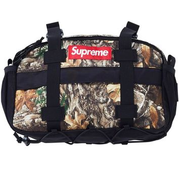 Supreme fashion men's and women's matching colored large-capacity duffel bags
