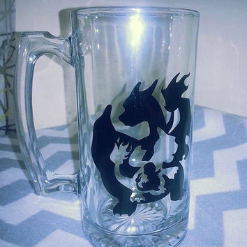 Charmander Evolution Beer Mug