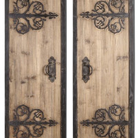 Uttermost Abelardo Rustic Wood Panels Set/2 - 07630