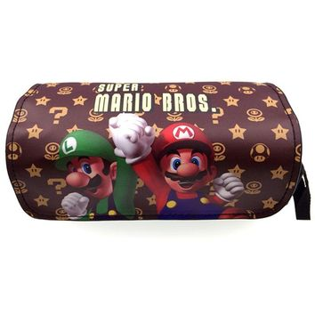 Super Mario party nes switch New Cartoon Cute Pencil bag Stationery Bag Star Wars/ Cosmetic Bags AT_80_8