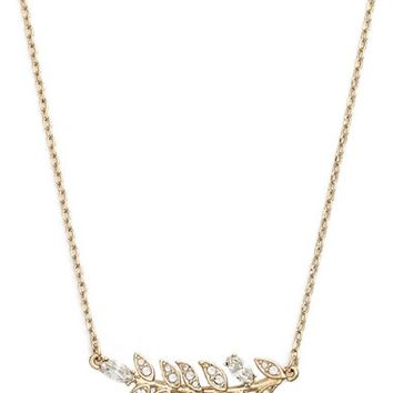 Marchesa 'Leaf' Pendant Necklace | Nordstrom