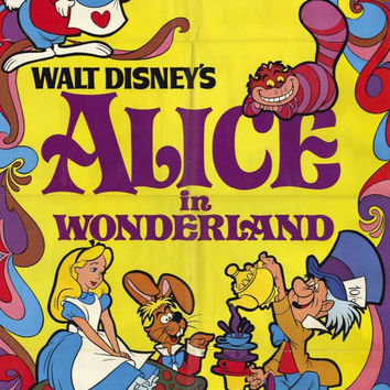 Alice in Wonderland 11x17 Movie Poster (1981)