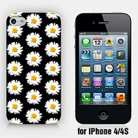 for iPhone 4/4S - Daisy Pattern - Hipster - Ship from Vietnam - US Registered Brand