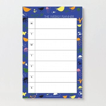 Under The Sea Notepad / To Do List