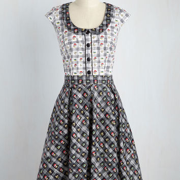 Snails Pitch Dress | Mod Retro Vintage Dresses | ModCloth.com