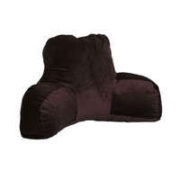 Faux Suede Reading Pillow