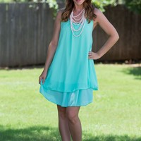 Diamond In The Ruffle Dress - Mint | Dresses | Kiki LaRue