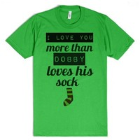 Dobby Love-Unisex Grass T-Shirt