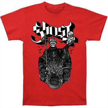 Ghost B.C. Men's  Chalice On Red Tee Slim Fit T-shirt Red