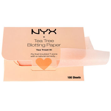 NYX Blotting Paper - Tea Tree - #BPRTT