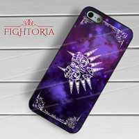 Majora's mask the legend of zelda colorful mask nebula -swnh for iPhone 6S case, iPhone 5s case, iPhone 6 case, iPhone 4S, Samsung S6 Edge