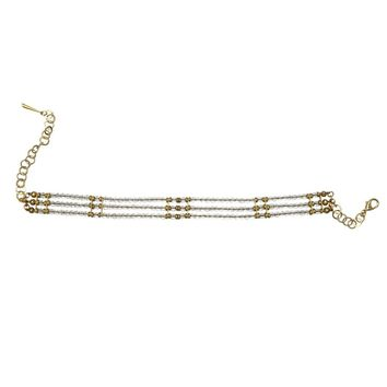 Twigs Rock Crystal Choker
