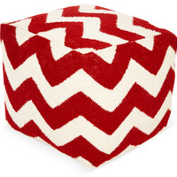 Lola Pouf, Red/White