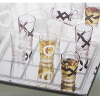 Tic Tac Toe Shot Glasses by Studio Silversmiths