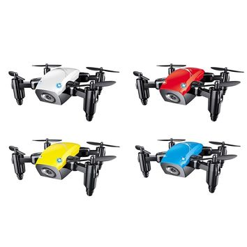 S9HW Mini Drone With Camera WiFi FPV Flying Remote Control Quadcopter Micro Pocket Toys Dron Altitude Hold RC Helicopters Gifts