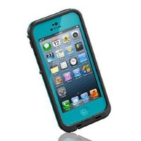 Double Layer Water-Proof Hard Shell Case with Port Sealers for iPhone 5