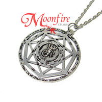 SUPERNATURAL Devil's Trap Grand Pentacle Symbol Necklace