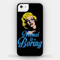 Normal Is Boring (phone case)