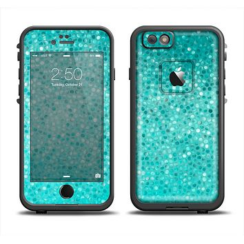 The Turquoise Mosaic Tiled Apple iPhone 6 LifeProof Fre Case Skin Set