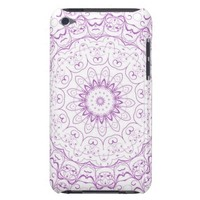 Purple French Lace iPod Touch Cases