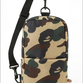 Camouflage Stylish Backpack Messenger Bags Tote Bag [10507735047]
